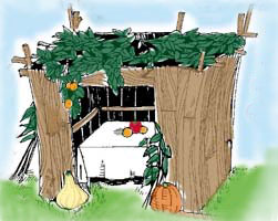 Sukkot feast of tabernacles for Plural of balcony